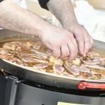 Detall paella de Cullera