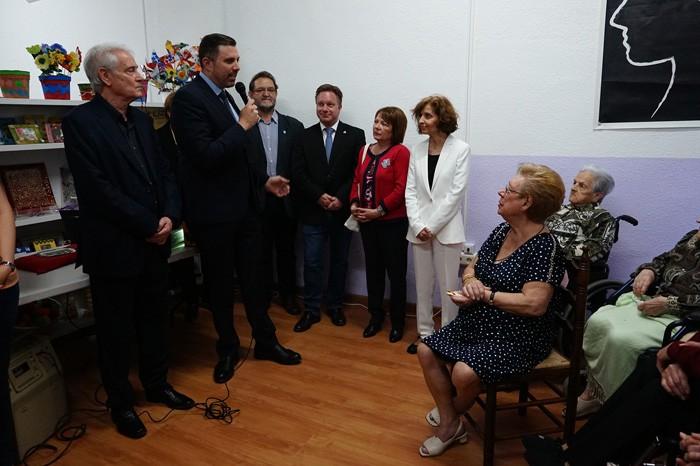 La nova seu d'AFACU de Cullera permetrà millorar l'atenció als malalts d'alzhèimer