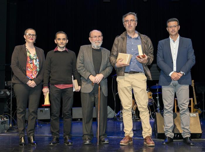 Fran García i Francesc Pastor guanyen els premis de poesia 'Marc Granell' d'Almussafes