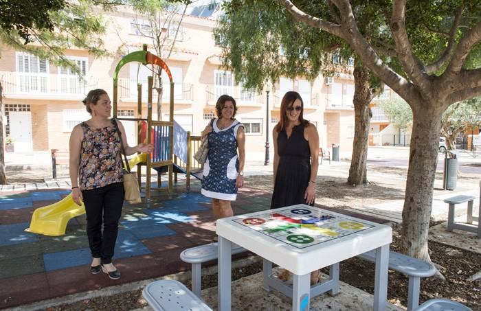 Favara recupera quatre parcs per a la ciutadania amb l'ajuda de la Diputació
