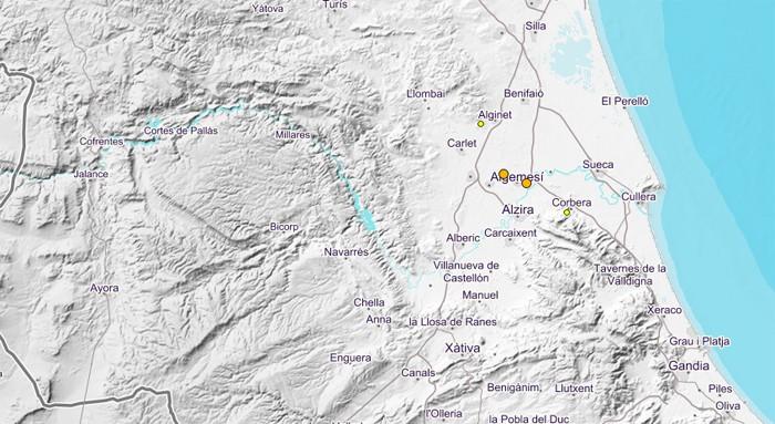 Corbera ha registrat avui un terratrémol d'escassa intensitat