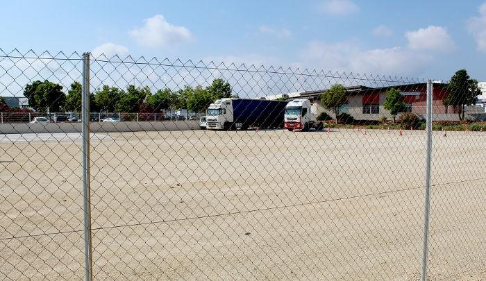 L'aparcament de camions del polígon industrial d'Almussafes ja és una realitat