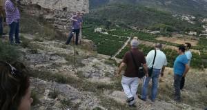 Tècnics de Patrimoni realitzen estudis preliminars per la recuperació del Castell de Corbera