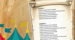 Mercat Medieval a Riola 7 i 8 octubre