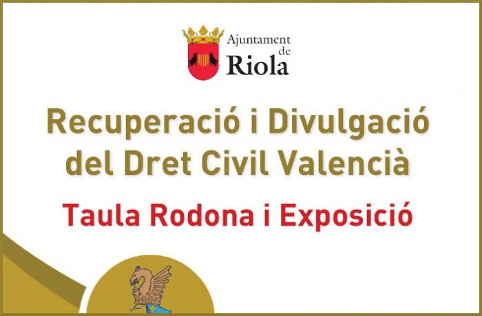 Riola acull dijous una completa jornada sobre el Dret Civil Valencià