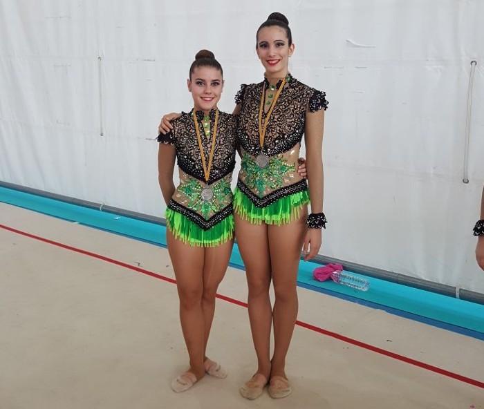 Les gimnastes d'Almussafes Teresa Garulo i Mar Martínez lluitaran pel títol nacional