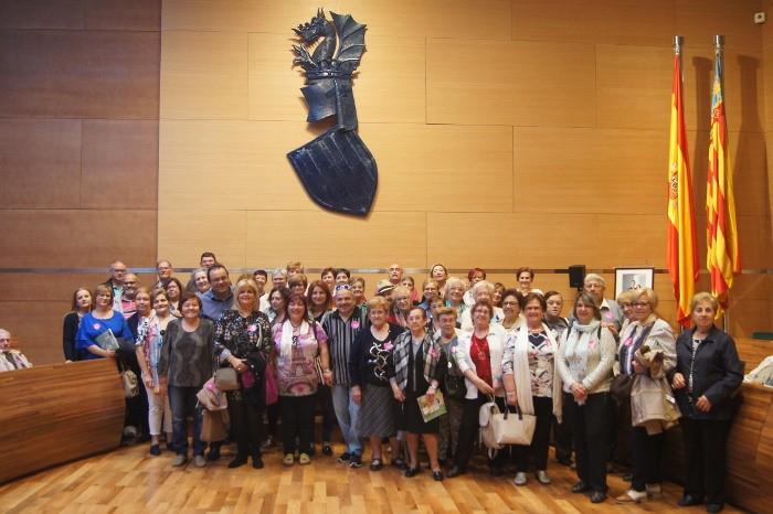 Veïnes i veïns de Fortaleny visiten la Diputació de València