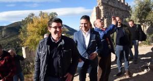 El president de la Diputacio visita el castell de Corbera_1