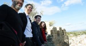 El president de la Diputacio visita el castell de Corbera_2