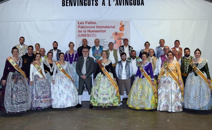Sueca celebra el primer aniversari de la declaració de les Falles com a Patrimoni