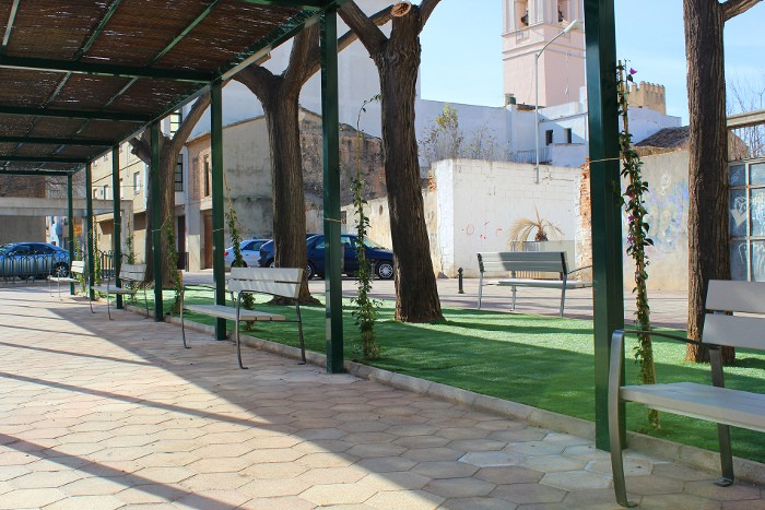 Final de la reforma del Parc del Sagrari - Almussafes 2