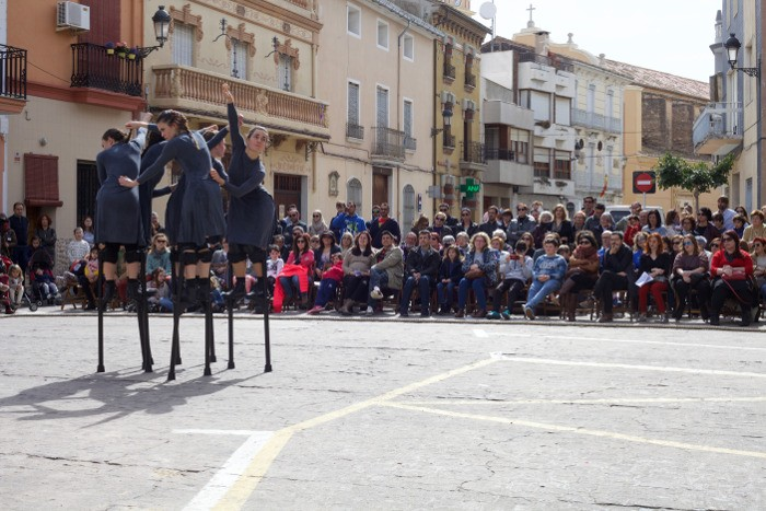 La dansa impossible de Mulïer inaugura la segona edició del festival Polinyà Íntim