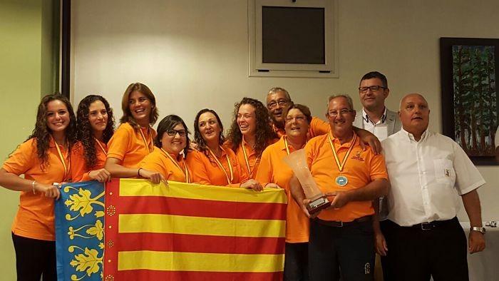 La regidora almussafenya Davinia Calatayud es proclama subcampiona d'Espanya de pesca a Fortaleny
