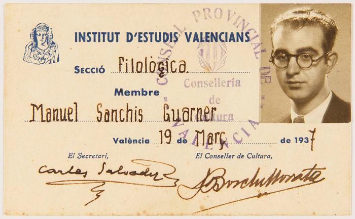 La Xala de Sueca homenatja el filòleg Manuel Sanchis Guarner demà diumenge