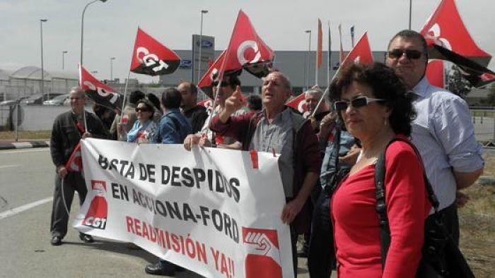 Acciona d'Almussafes anirà a la vaga indefinida si no es garanteixen la subrogació del personal i l'IPC