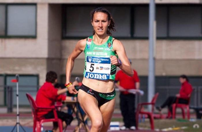 L'atleta almussafenya Laura Méndez, campiona autonòmica de la milla