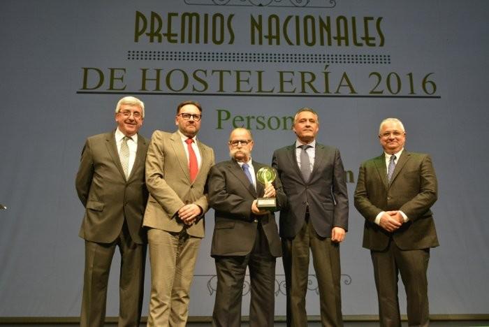 Salvador rep el Premi Nacional per la seua dedicació i treball per la gastronomia valenciana