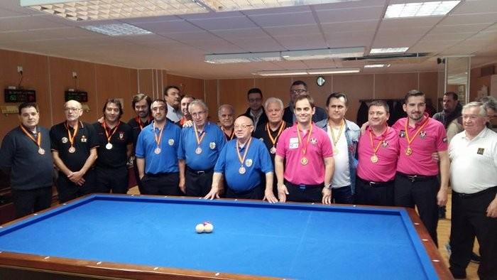 El suecà Raül Cuenca guanya a Almussafes altre Campionat d'Espanya de billar
