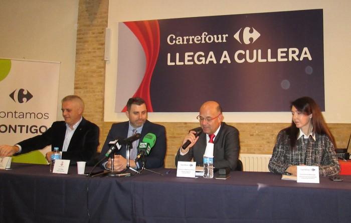 Carrefour arriba a Cullera i obrirà portes el 9 de febrer creant 30 nous llocs de treball