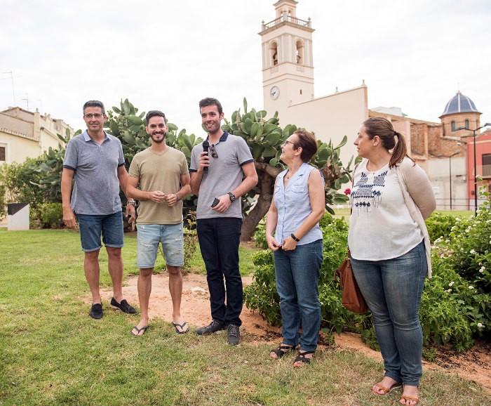 Els estudiants de la UPV presenten les seues propostes per al desenvolupament urbanístic d'Almussafes
