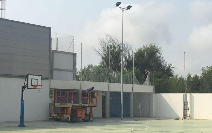 L'Ajuntament del Perelló realitza millores en el nou col·legi