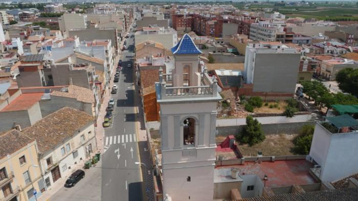 L'Ajuntament d'Almussafes baixa l'IBI urbà d'ús residencial per a l'any que ve