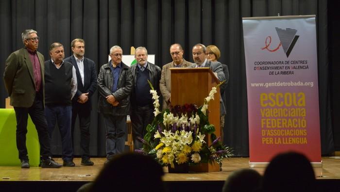 La Coordinadora de Centres de la comarca rep el guardó de la Mancomunitat de la Ribera Alta
