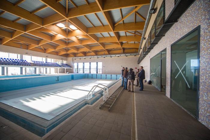 L'Ajuntament de Cullera i el Consell desbloquegen les obres de la piscina coberta