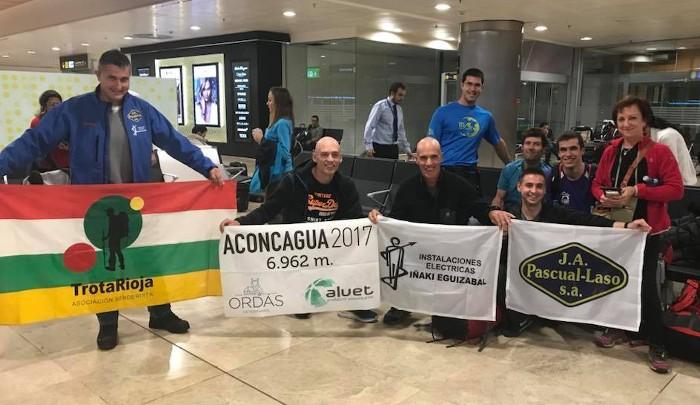 L'almussafeny Kike Ordás participa en una expedició per a coronar l'Aconcagua