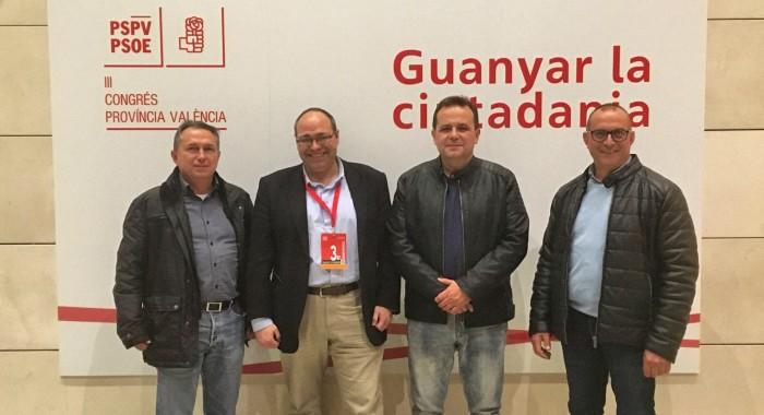 La Ribera Baixa pren força dins l'organització provincial del PSPV-PSOE
