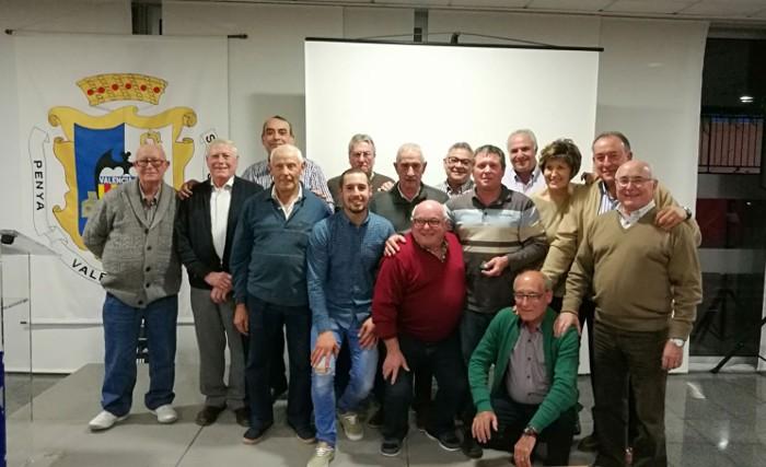 La Penya Valencianista d'Almussafes celebra el seu primer quart de segle