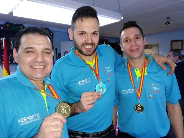 El Club Billar Sueca torna a proclamar-se Campió d'Espanya de jocs de sèrie