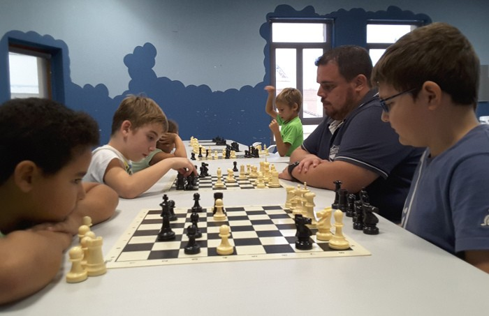 L'Escola Itinerant d'Escacs de la Diputació de València arriba per primera vegada a Almussafes