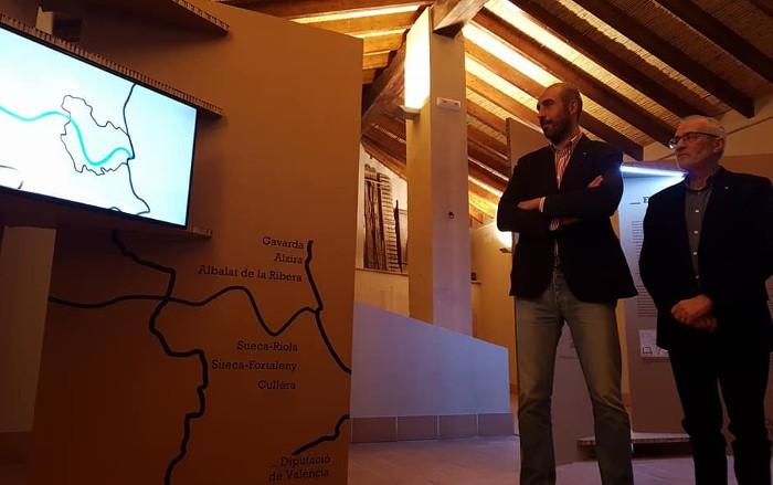 Albalat de la Ribera exposa 'Ponts de ferro de la Ribera del Xúquer. 100 anys unint pobles'