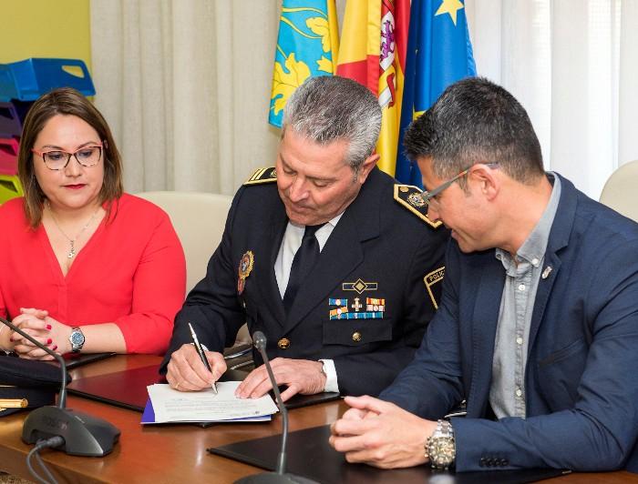 Ernesto Serrano és anomenat inspector en cap de la Policia Local d'Almussafes