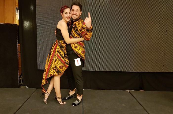 La ballarina almussafenya Sandra Fernández es proclama campiona del món de Kizomba i Sembra