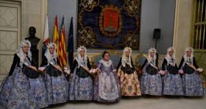 Fallera major Infantil de Sueca i Bellees del Foc Alacant – maig 2018