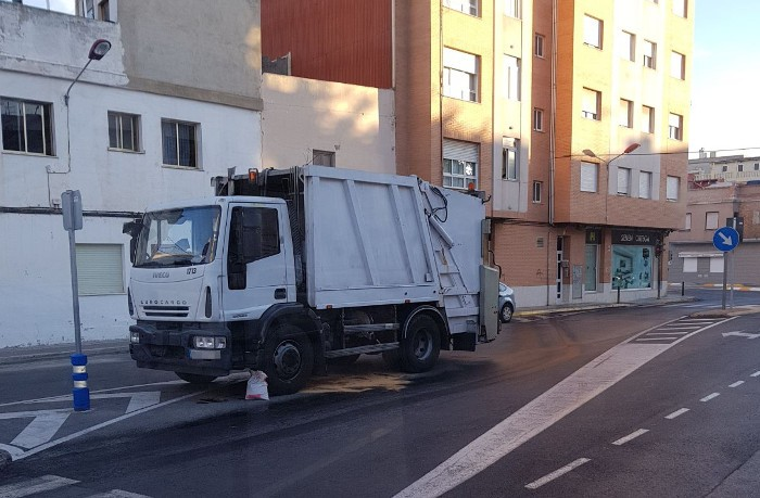 Denuncien l'empresa de la retirada de residus sòlids urbans de Sueca pel mal estat dels vehicles