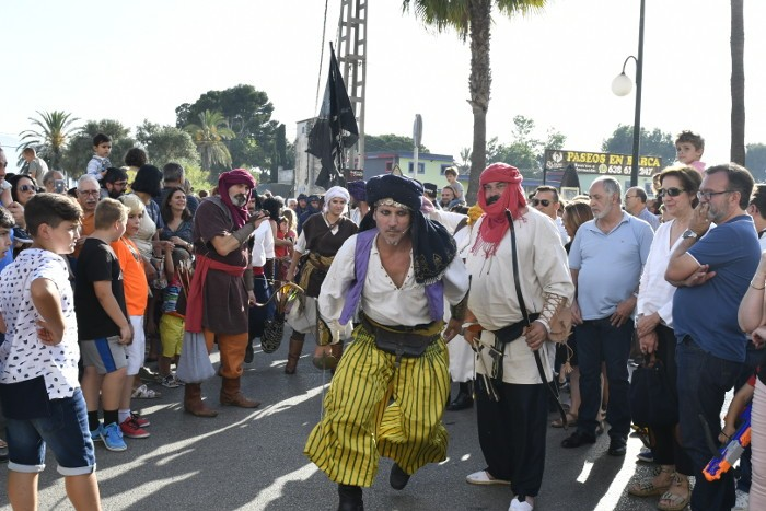 Cullera amplia a dos dies la recreació històrica de Dragut després de l'èxit de visitants
