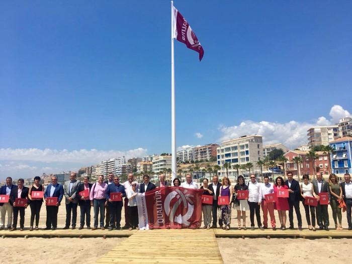 La platja del Perelló torna a ser distingida amb la bandera Qualitur