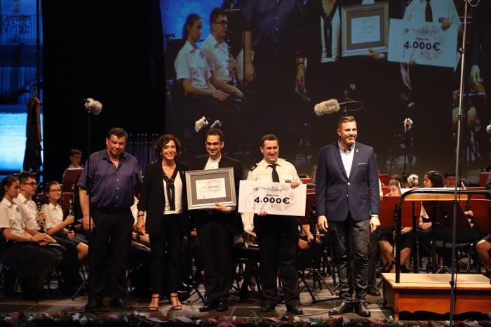 La banda de Cehegín guanya el certamen de música de cinema de Cullera