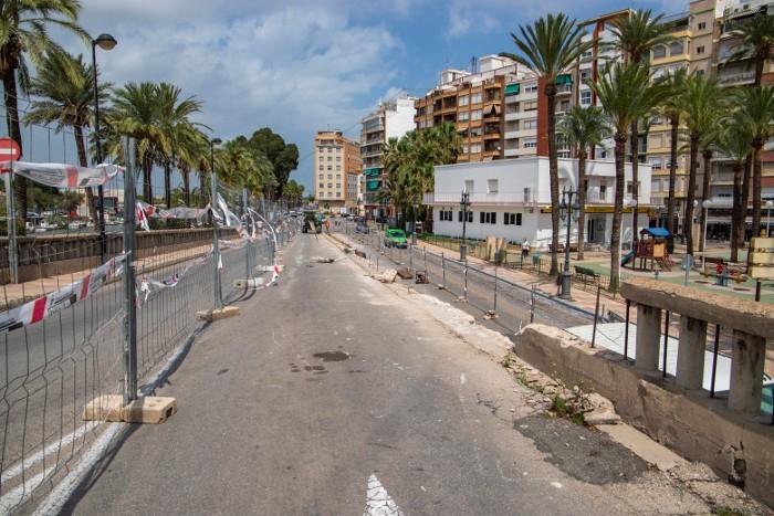La reactivació de l'obra pública a Cullera dispara fins als 6 milions d'euros la inversió