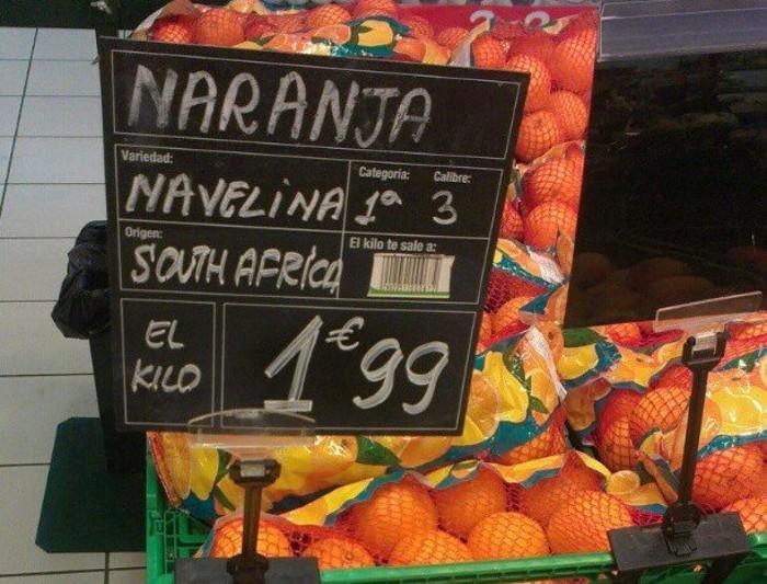 La política europea torna a provocar un nefast inici de la campanya de la taronja