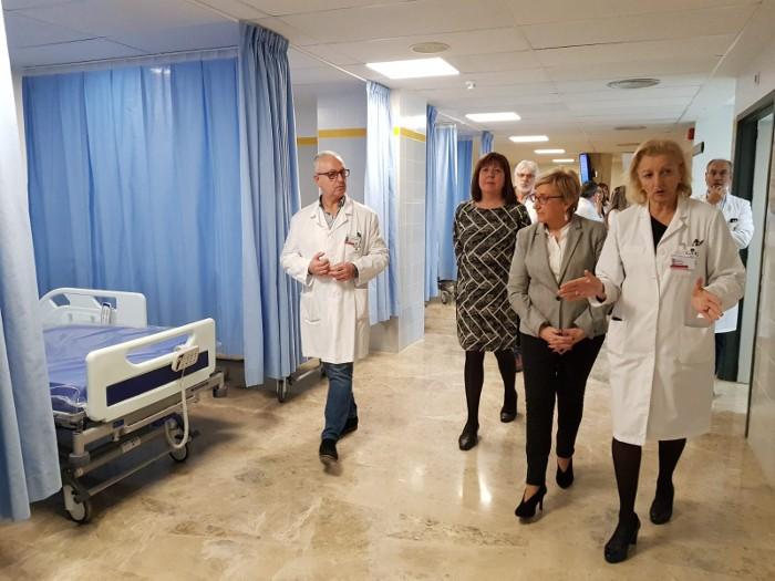 La nova Unitat de Preingrés de l'Hospital d'Alzira augmenta en 24 llits la capacitat del centre