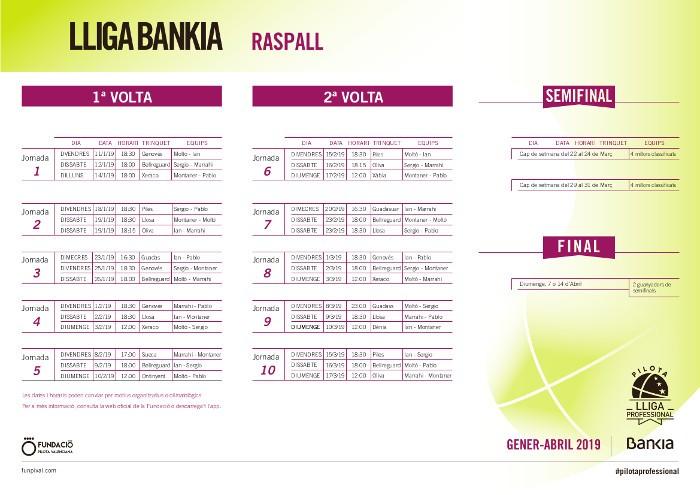 Calendari-Lliga-Raspall-2019