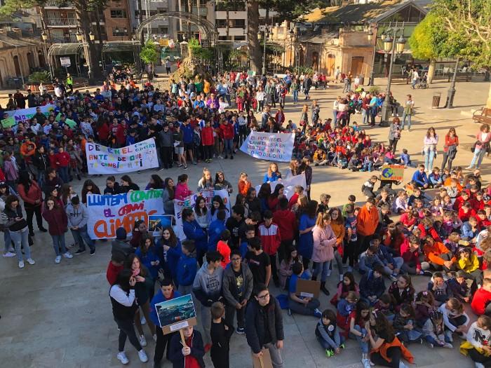 Estudiants de Cullera també es manifesten en divendres contra el canvi climàtic
