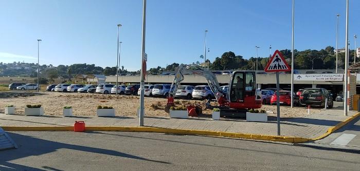 L'Hospital de la Ribera habilita 40 noves places d'aparcament gratuït per a pacients