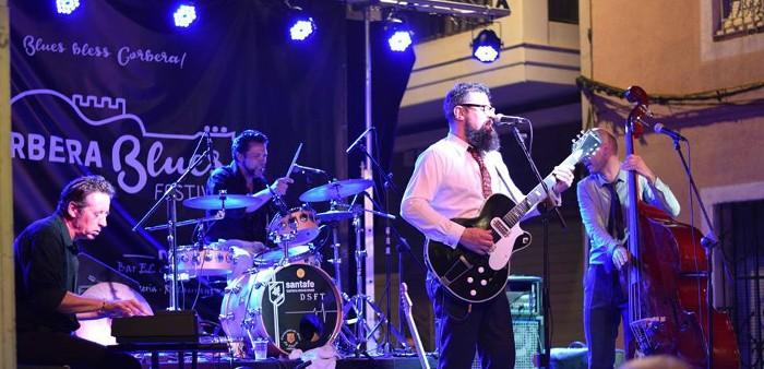 El cantant nord-americà Greg Copeland i el guitarrista britànic Chris Wragg actuaran al Corbera Blues Festival