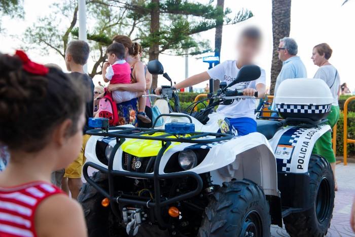 La Policia Local de Cullera mostrarà el dijous la seua activitat habitual en una jornada d'exhibició