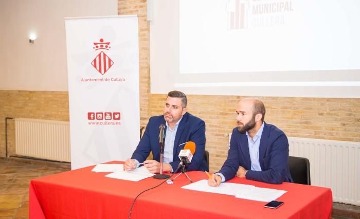 Hugo Font (Compromís) s'incorpora a l'equip de govern de Cullera, de majoria absoluta socialista
